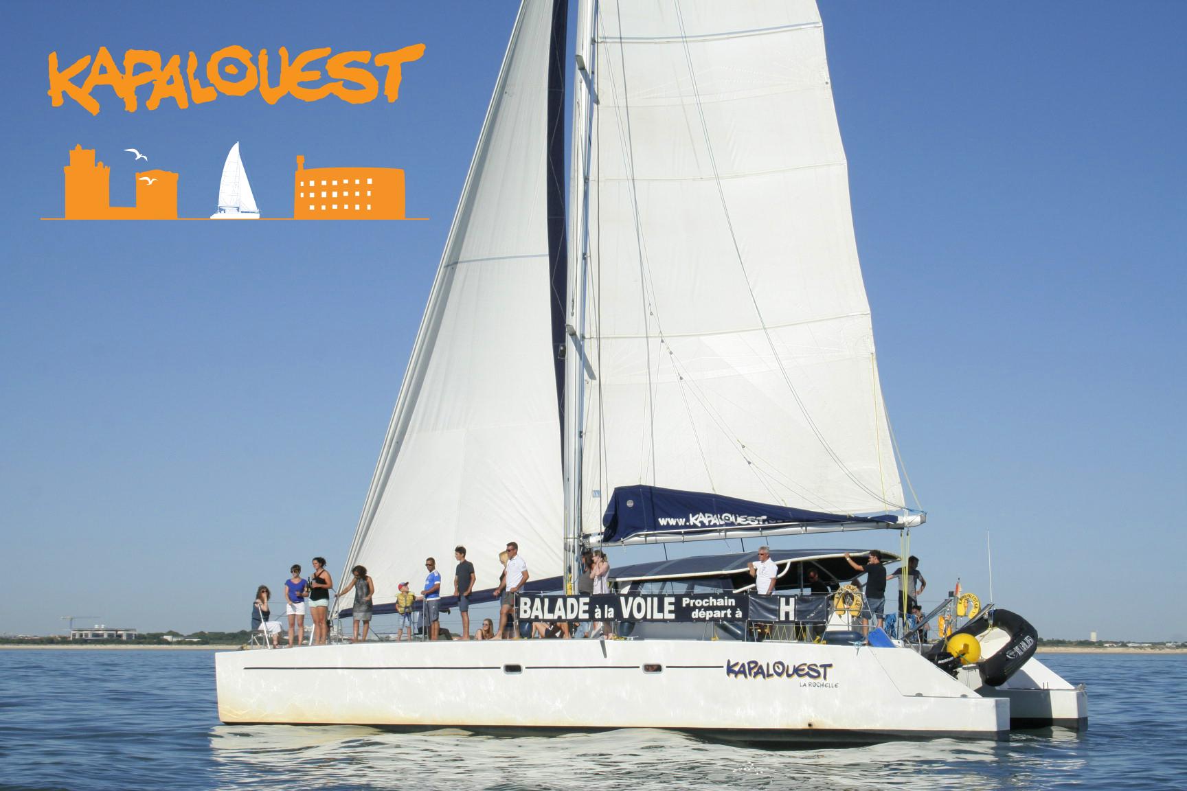 Kapalouest catamaran La Rochelle