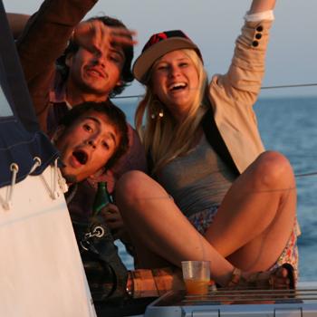 faire la fête en mer