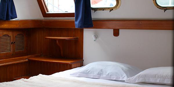 nuit à bord d'un voilier