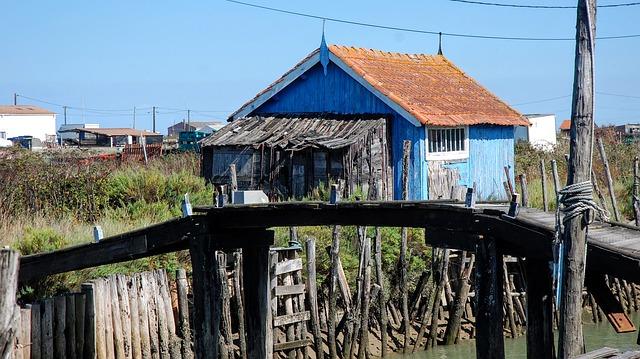 cabane ostreîcole croisière charente maritime